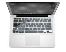 iSkin ProTouch FX Keyboard Skin Microban - Arctic